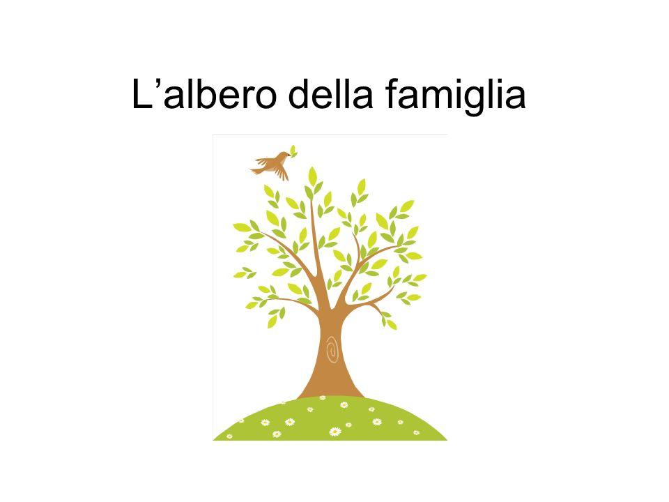 Lalbero della famiglia