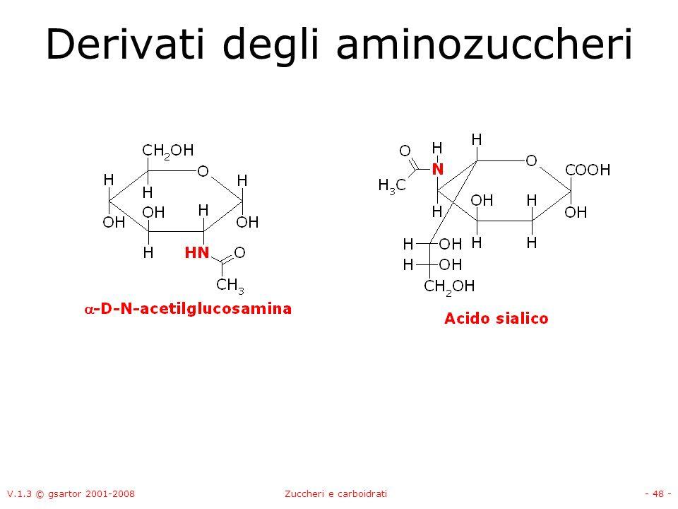V.1.3 © gsartor 2001-2008Zuccheri e carboidrati- 49 -