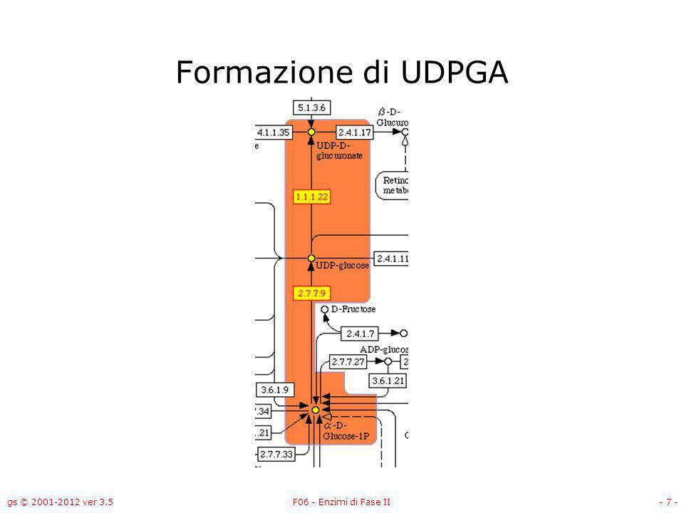 gs © 2001-2012 ver 3.5F06 - Enzimi di Fase II- 8 - Glucosio-1-fosfato