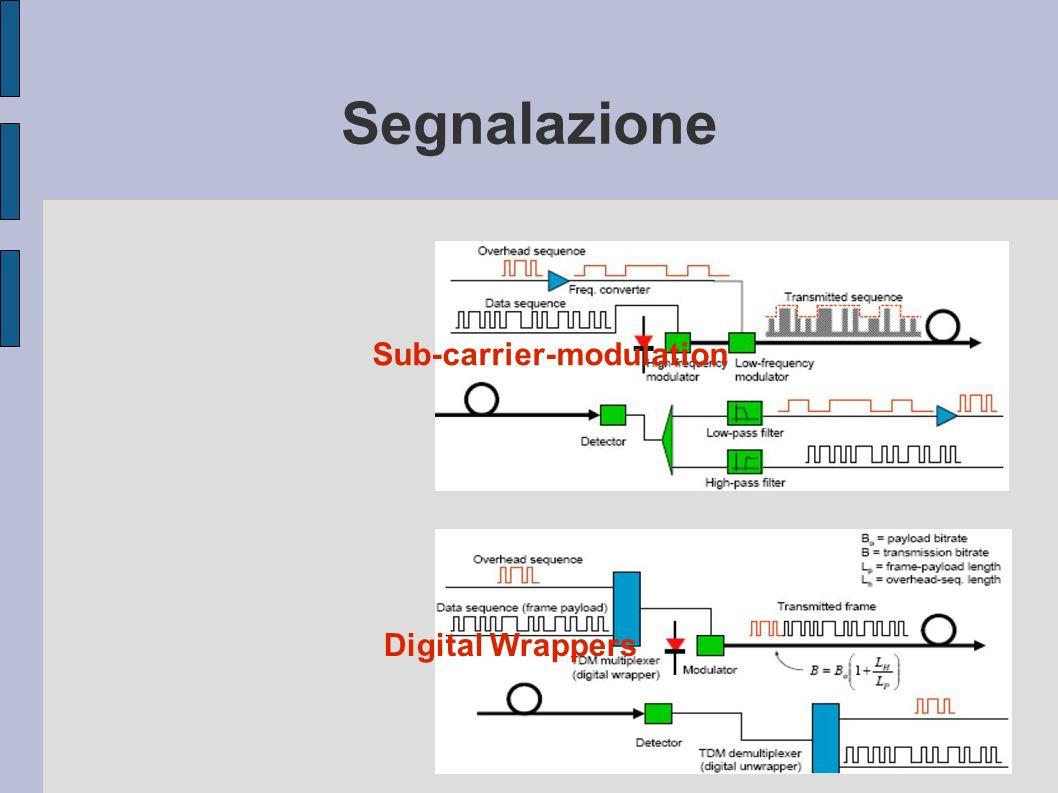 Segnalazione Sub-carrier-modulation Digital Wrappers