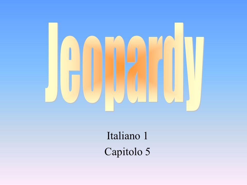 Italiano 1 Capitolo 5
