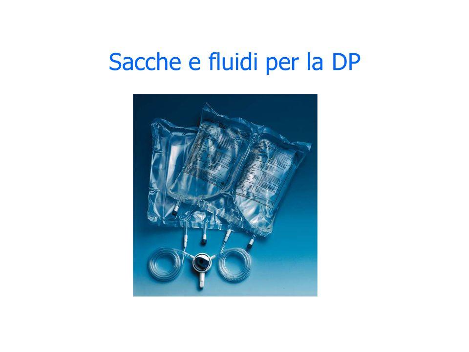 Sacche e fluidi per la DP