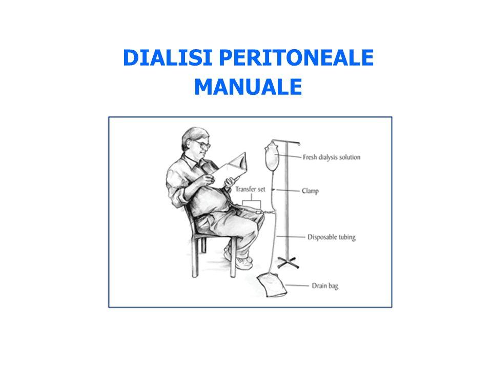 DIALISI PERITONEALE MANUALE