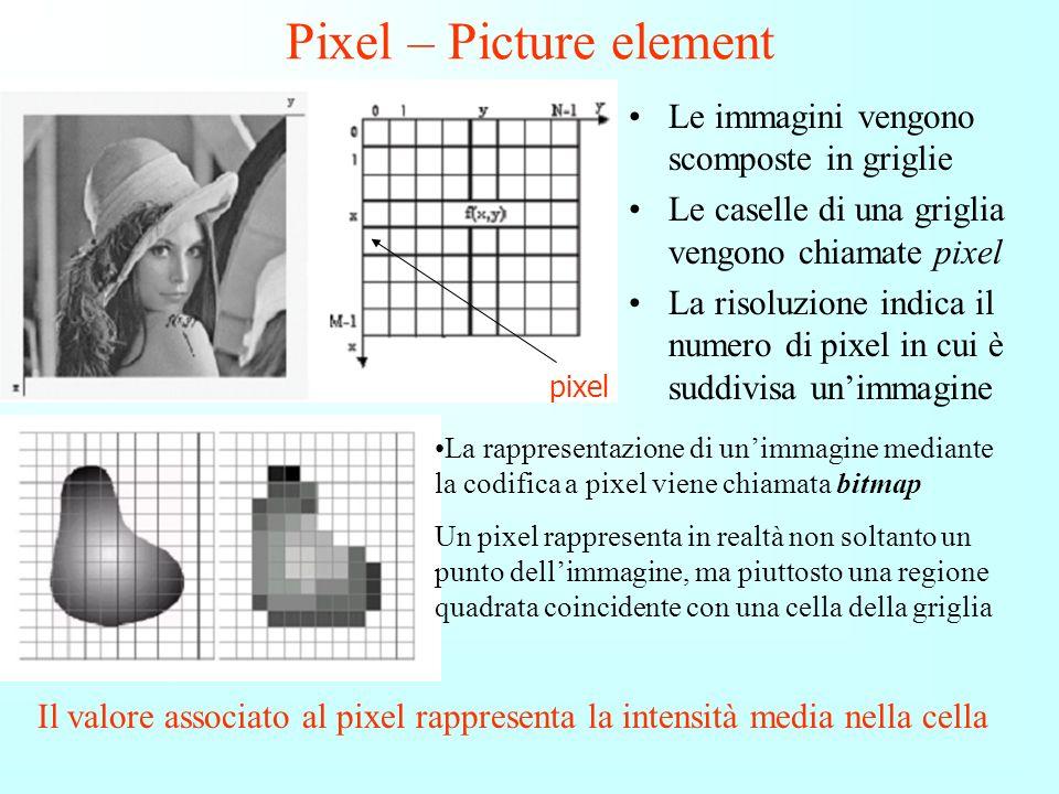 Prima che fotografie e immagini possano essere elaborate sul computer, esse devono essere digitalizzate (espresse come numeri zero e uno) tramite un p