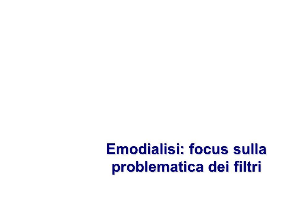 Emodialisi: focus sulla problematica dei filtri