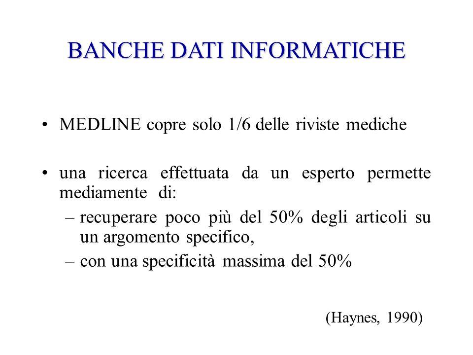 Il caso dellalbumina Lipoalbuminemia è una condizione associata a emorragie gravi e a ustioni estese Per trattarla viene usata lalbumina umana Nel 1999 viene pubblicata una rassegna sistematica sulla sua efficacia (Cochrane Collaboration)