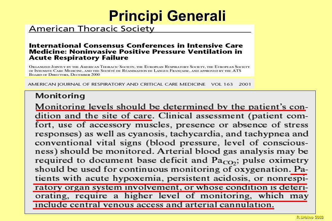 Principi Generali R.Urbino 2002