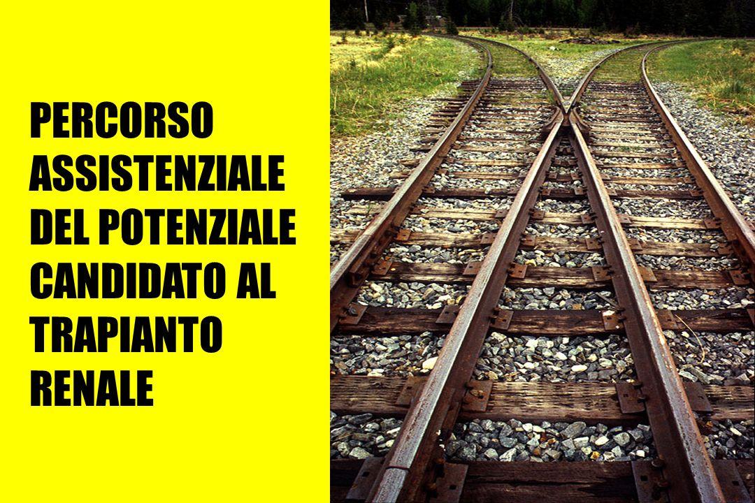 Centro Trapianti Renali A. Vercellone S.C.U Nefrologia Dialisi e Trapianto (Dir. Prof. G. Segoloni) Azienda Ospedaliera S.Giovanni di Torino 1981 iniz
