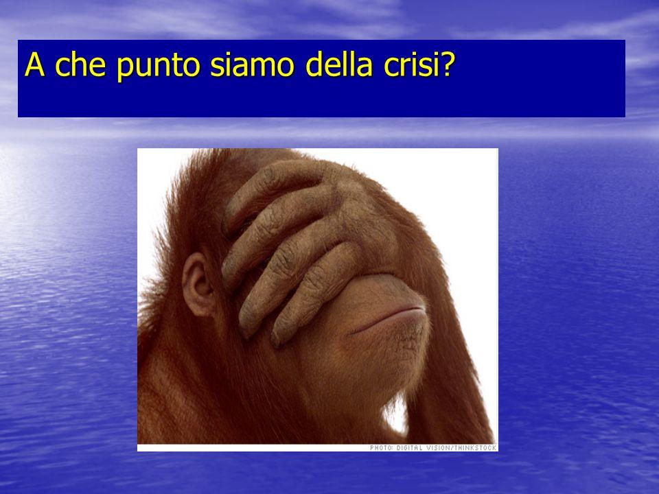 Fase 1 2007/2008 Lo scoppio della crisi