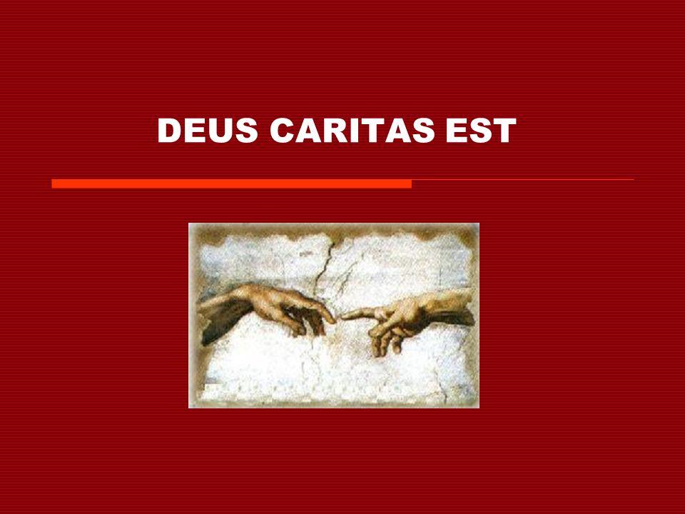 Lettera enciclica di PAPA BENEDETTO XVI SULLAMORE CRISTIANO