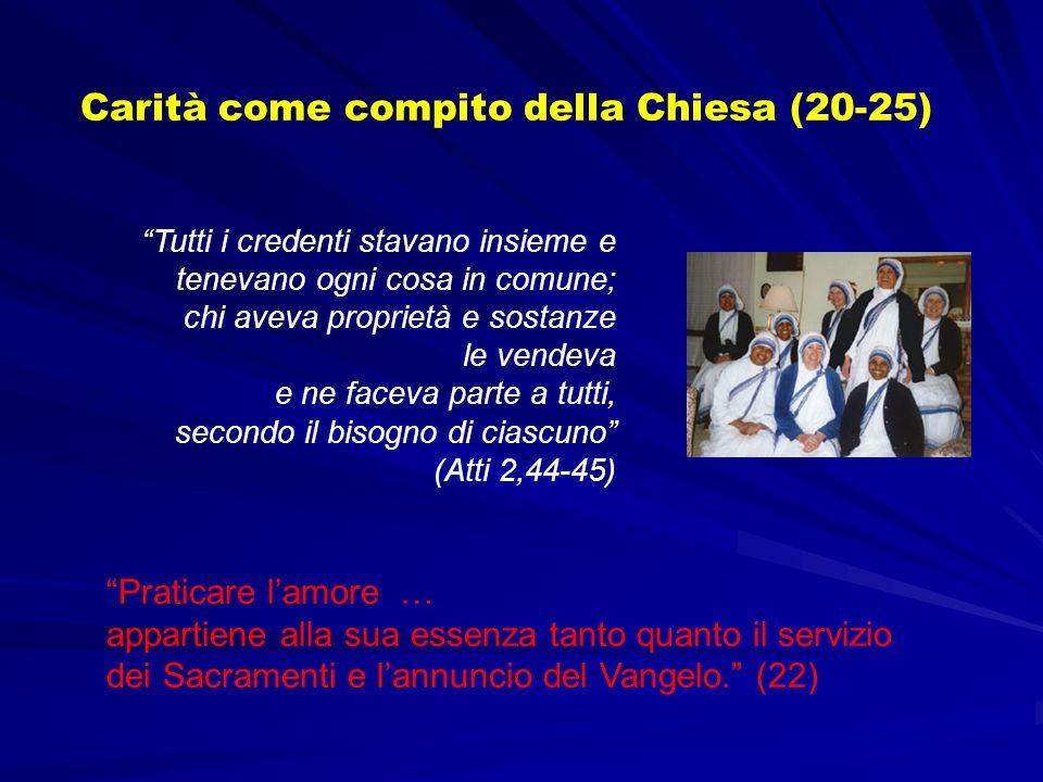 Tutti i credenti stavano insieme e tenevano ogni cosa in comune; chi aveva proprietà e sostanze le vendeva e ne faceva parte a tutti, secondo il bisog