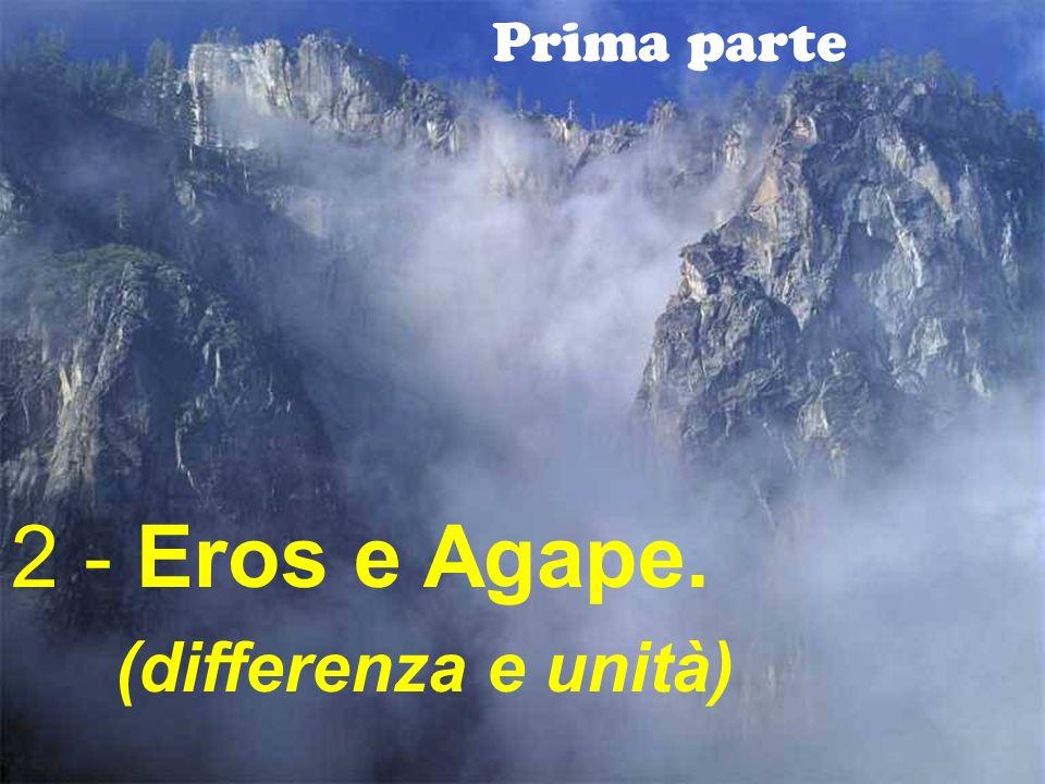 14 Prima parte 2 - Eros e Agape. (differenza e unità)