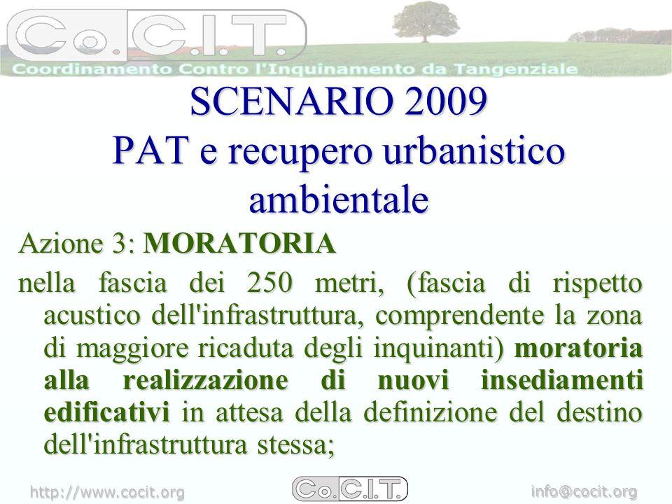 http://www.cocit.org info@cocit.org Azione 4: ESTENDERE IL BOSCO destinare delle aree ad espansione del Bosco di Mestre, intorno allasse dellinfrastruttura, come ad esempio in parte già previsto intorno a Forte Carpenedo e lungo il Dese.