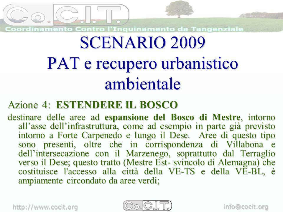 http://www.cocit.org info@cocit.org SCENARI FUTURI POSSIBILI A) TRASFORMARE LASSE URBANO DELLA TANGENZIALETRASFORMARE LASSE URBANO DELLA TANGENZIALE LE IDEE PROPOSTE DA MES3OVEST COME ESEMPIOLE IDEE PROPOSTE DA MES3OVEST COME ESEMPIO