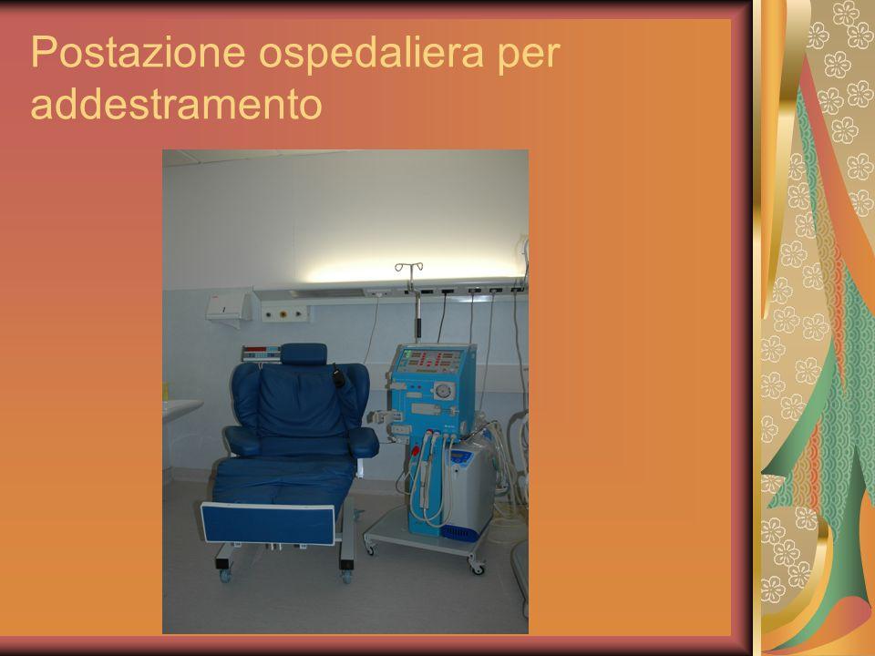 Postazione ospedaliera per addestramento