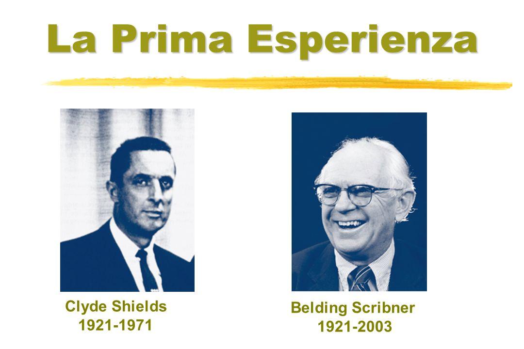 Clyde Shields 1921-1971 Belding Scribner 1921-2003 La Prima Esperienza