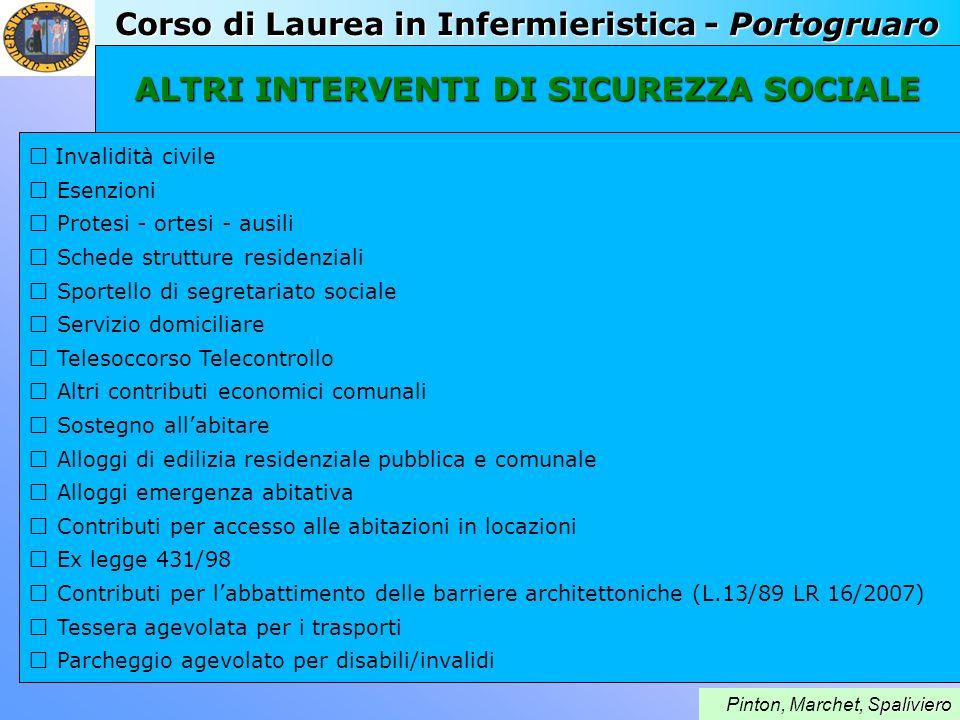 Corso di Laurea in Infermieristica - Portogruaro paliviero Pinton, Marchet, Spaliviero Health21: La salute per tutti nel 21°secolo (Health for all in the 21 st century) Dichiarazione dell O.M.S.