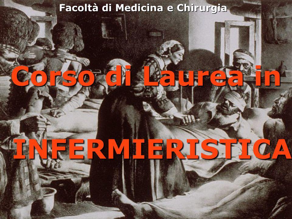 Facoltà di Medicina e Chirurgia Corso di Laurea in INFERMIERISTICA INFERMIERISTICA