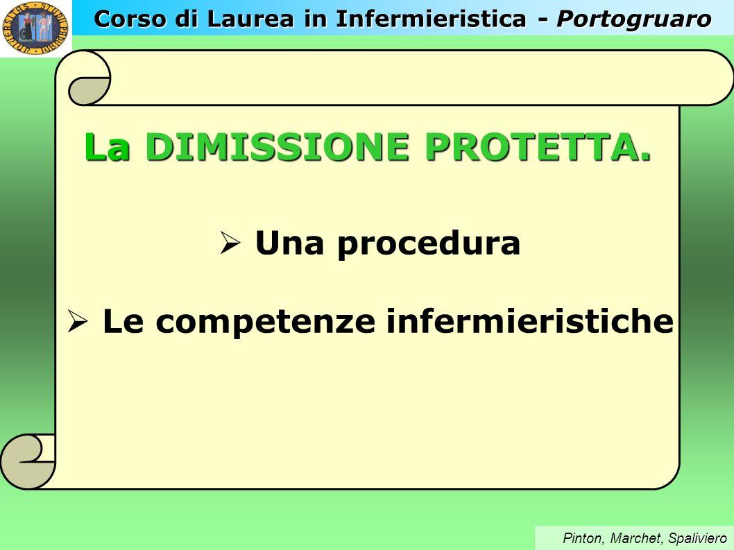 Pianificazione della dimissione protetta - schema – U.O.