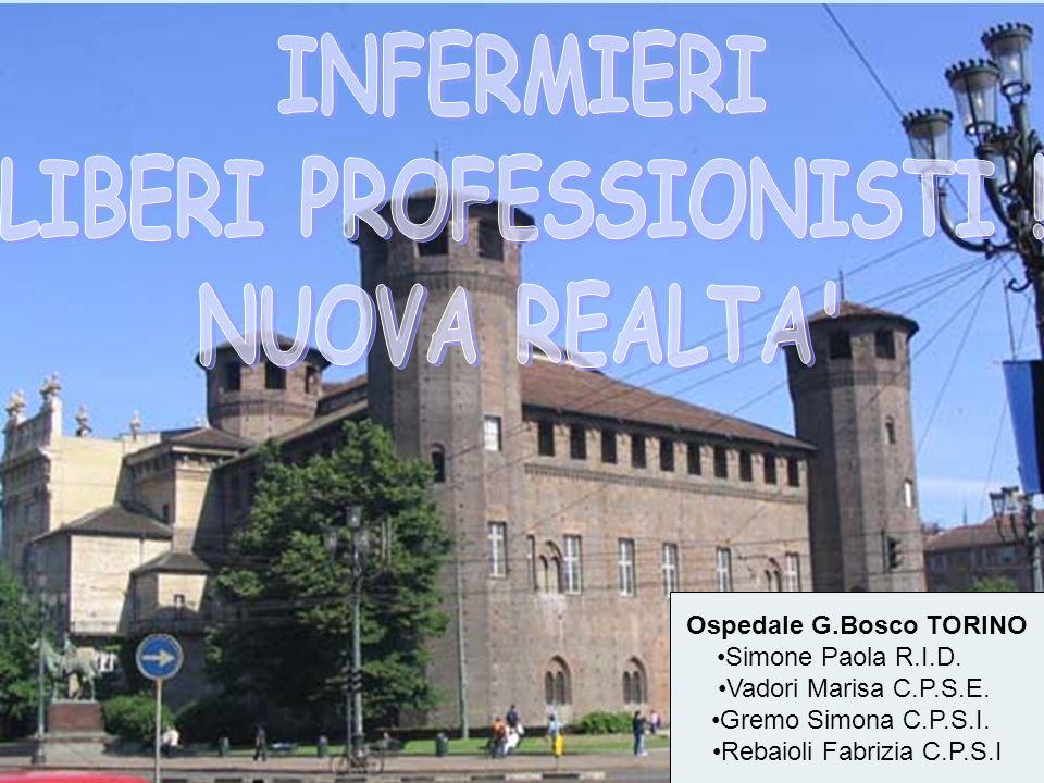 Ospedale G.Bosco TORINO Simone Paola R.I.D. Vadori Marisa C.P.S.E. Gremo Simona C.P.S.I. Rebaioli Fabrizia C.P.S.I