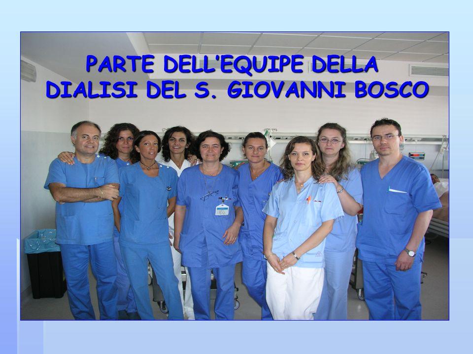 PARTE DELLEQUIPE DELLA DIALISI DEL S. GIOVANNI BOSCO