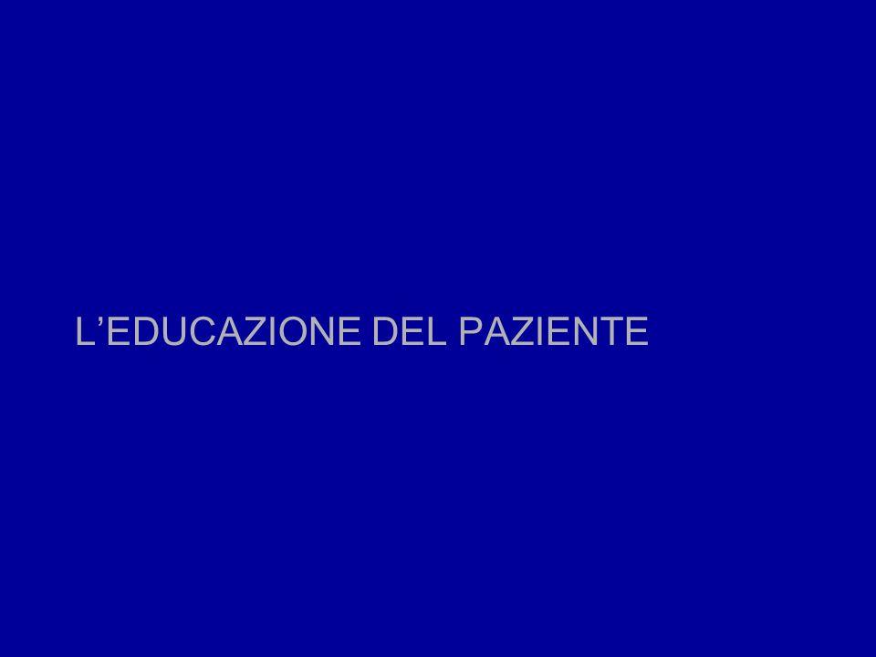 LEDUCAZIONE DEL PAZIENTE