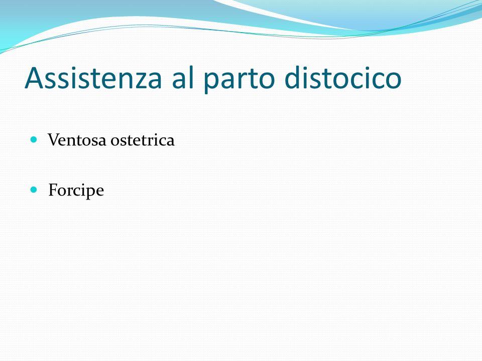 Assistenza al parto distocico Ventosa ostetrica Forcipe
