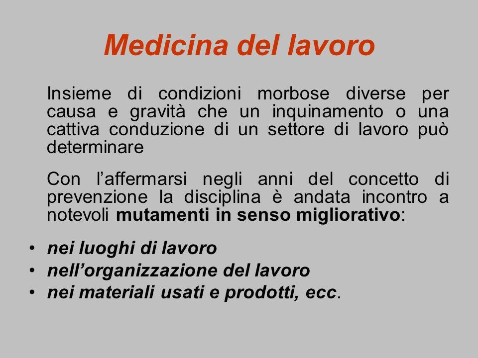 Valori limite In Italia, in mancanza di valori limite stabiliti da Leggi dello Stato Italiano, ci si riferisce dal punto di vista operativo ai limiti proposti dallAmerican Conference of Governmental Industrial Hygienists (ACGIH).