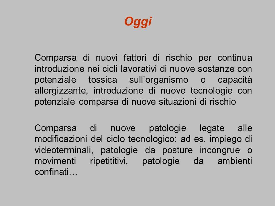 IDENTIFICAZIONE DEI FATTORI DI RISCHIO CHIMICI -Etichettatura - Scheda di sicurezza
