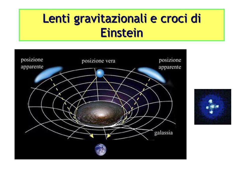 Lenti gravitazionali e croci di Einstein