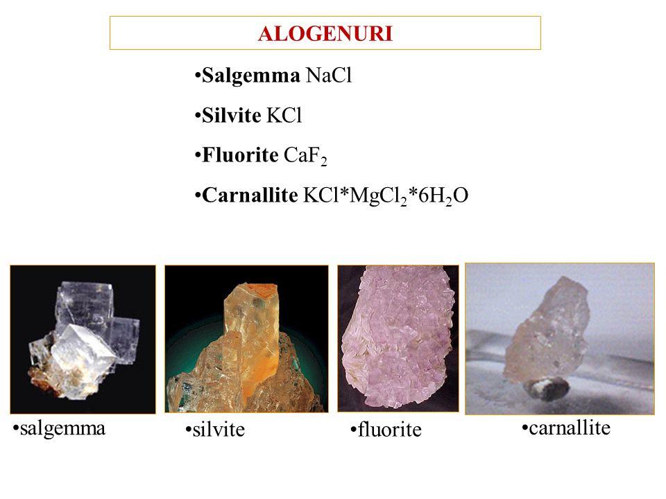 OSSIDI Spinello MgO*Al 2 O 3 Magnetite Fe 3 O 4 = FeO*Fe 2 O 3 Corindone Al 2 O 3 Ematite Fe 2 O 3 magnetite corindone ematite MINERALI COMPOSTI NON S