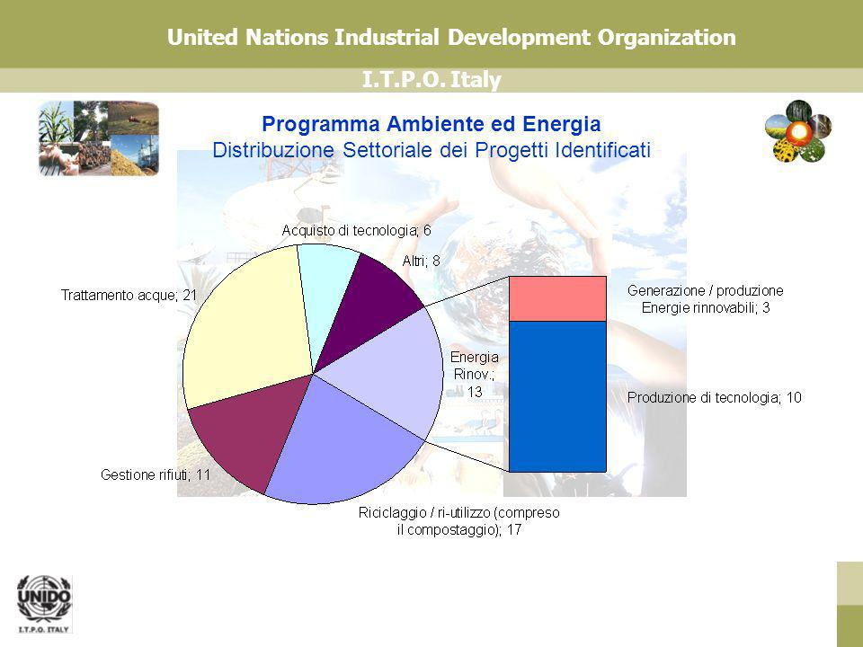 I.T.P.O.Italy United Nations Industrial Development Organization www.unido.it Grazie.