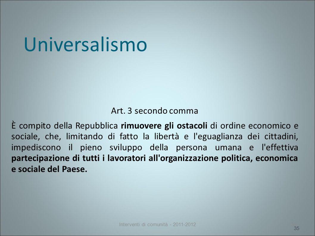 Universalismo Art.
