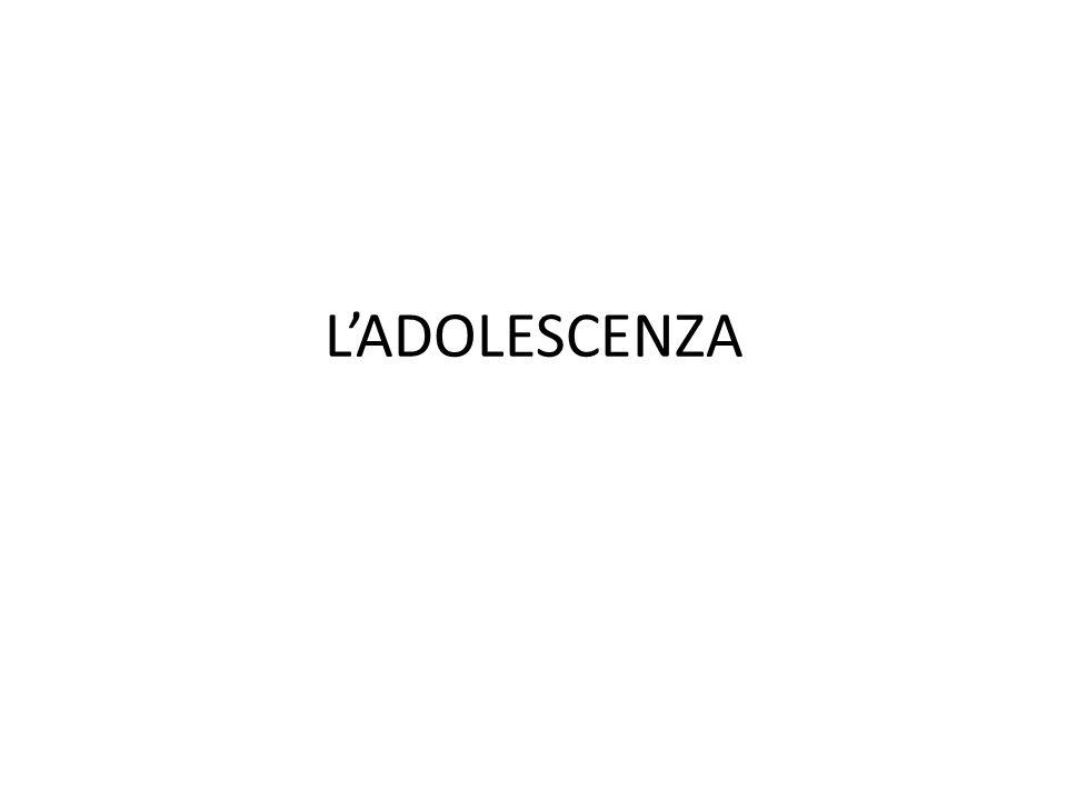 LADOLESCENZA