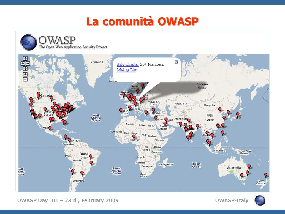 OWASP Day III – 23rd, February 2009 OWASP-Italy 9 What are the OWASP projects?