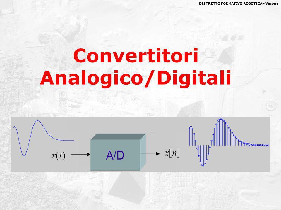 DISTRETTO FORMATIVO ROBOTICA - Verona Convertitori Analogico/Digitali