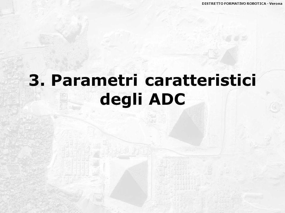 DISTRETTO FORMATIVO ROBOTICA - Verona 3. Parametri caratteristici degli ADC