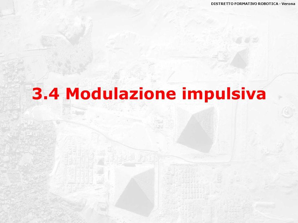 DISTRETTO FORMATIVO ROBOTICA - Verona 3.4 Modulazione impulsiva