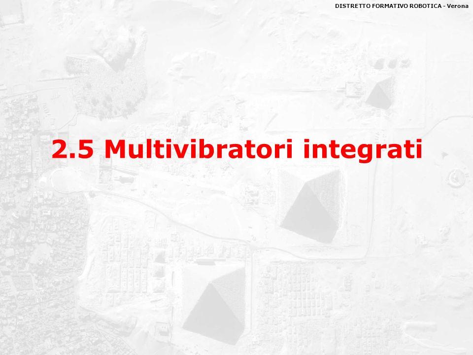 DISTRETTO FORMATIVO ROBOTICA - Verona 2.5 Multivibratori integrati