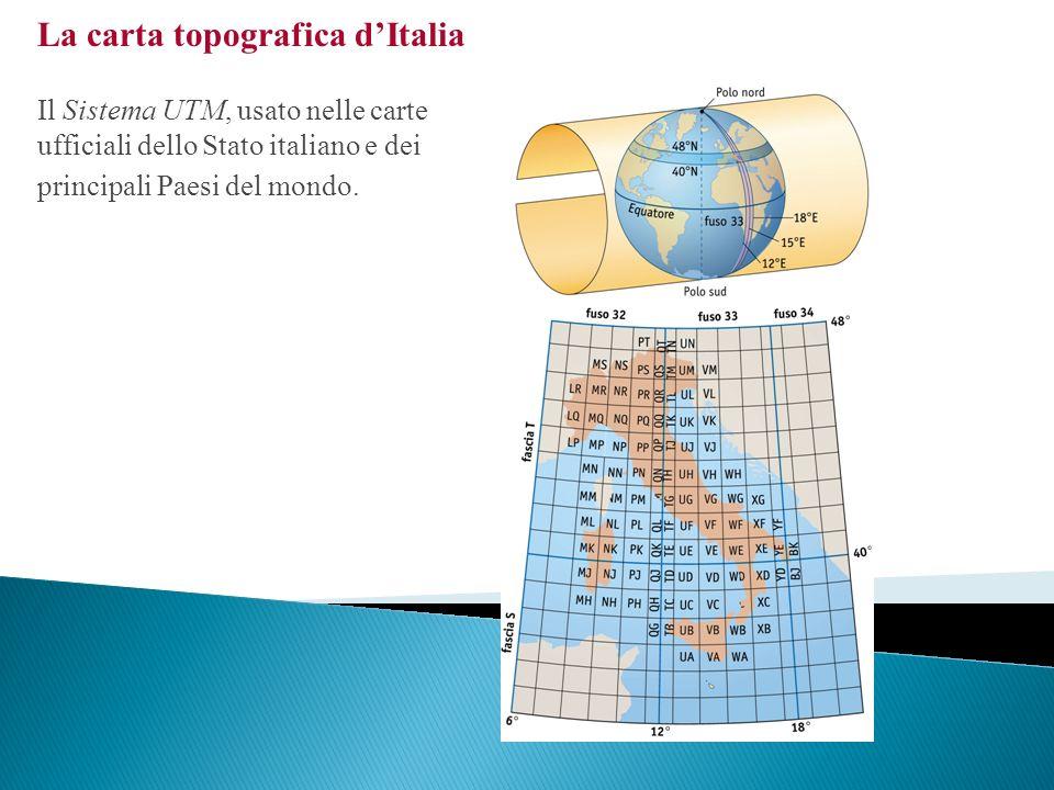 La produzione cartografica italiana Le principali periferiche di input e output di un Sistema Informativo Territoriale.