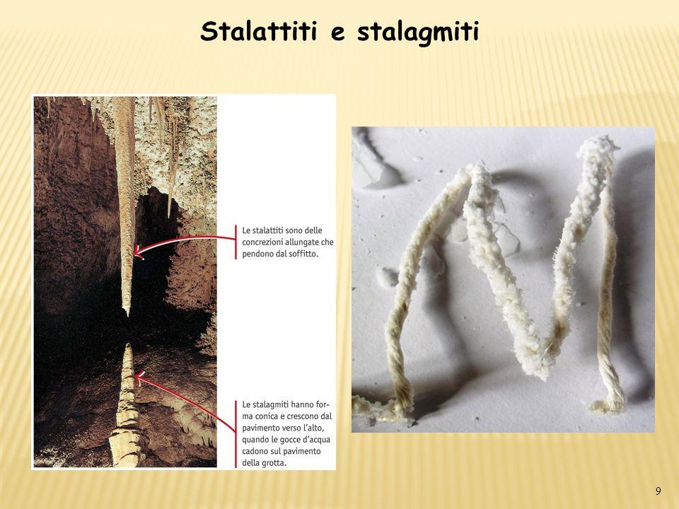 Stalattiti e stalagmiti 9
