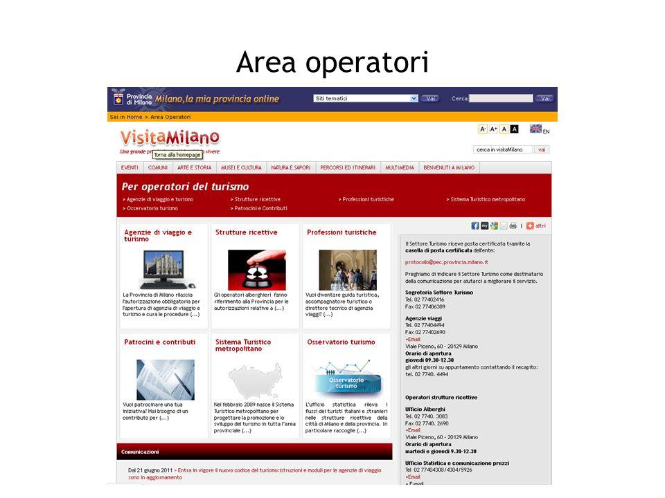 Area operatori