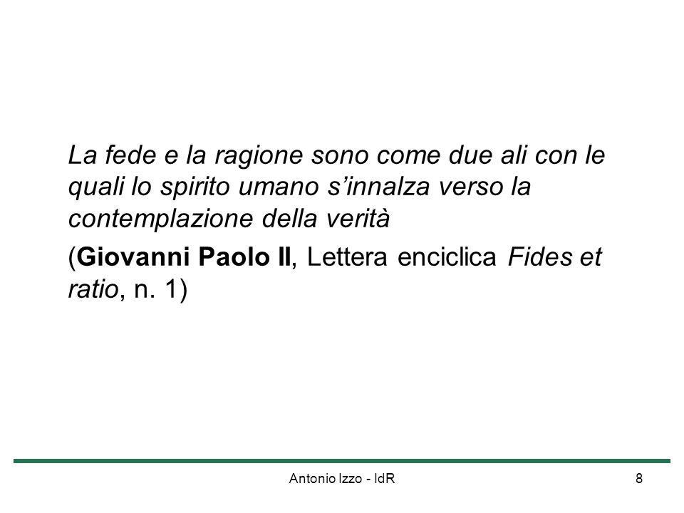 Antonio Izzo - IdR19 La Bestemmia (CCC, nn.