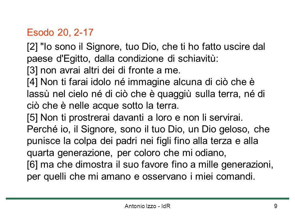Antonio Izzo - IdR20 La Bestemmia (CCC, nn.