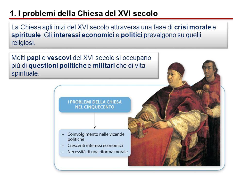 Durante il concilio di Trento vengono ribaditi tutti i princìpi fondamentali della dottrina cattolica: 3.