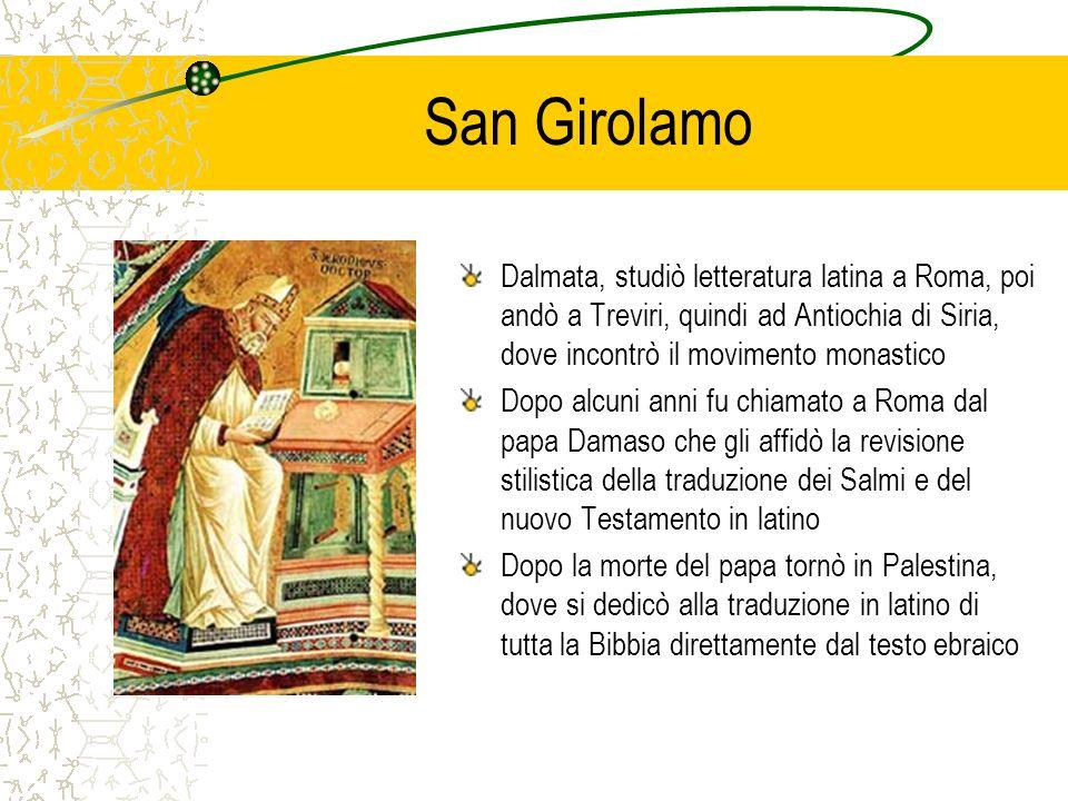 San Girolamo Dalmata, studiò letteratura latina a Roma, poi andò a Treviri, quindi ad Antiochia di Siria, dove incontrò il movimento monastico Dopo al