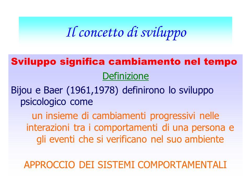 Lezioni di Psicologia dello sviluppo Master Psichiatria Prof. Natalino Natoli Sede di Tivoli