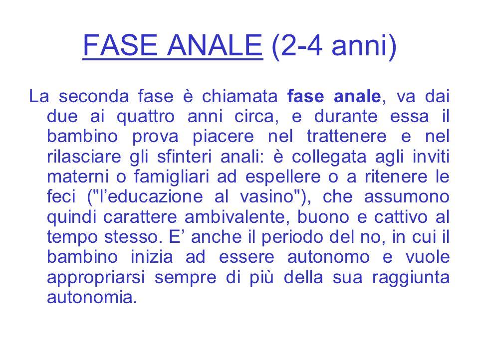 FASE ORALE (fino a 2 anni) La prima è la fase orale, che va dalla nascita ai due anni circa ed in essa la libido (così Freud chiama lenergia sessuale)