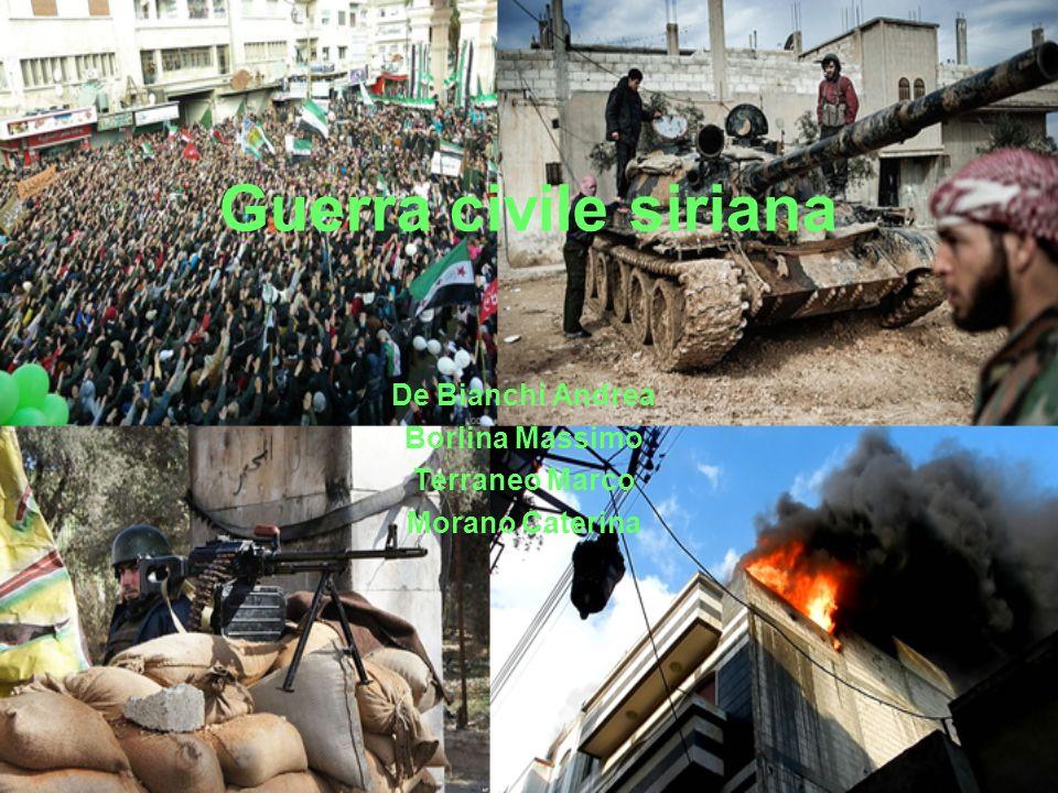 Guerra civile siriana De Bianchi Andrea Borlina Massimo Terraneo Marco Morano Caterina