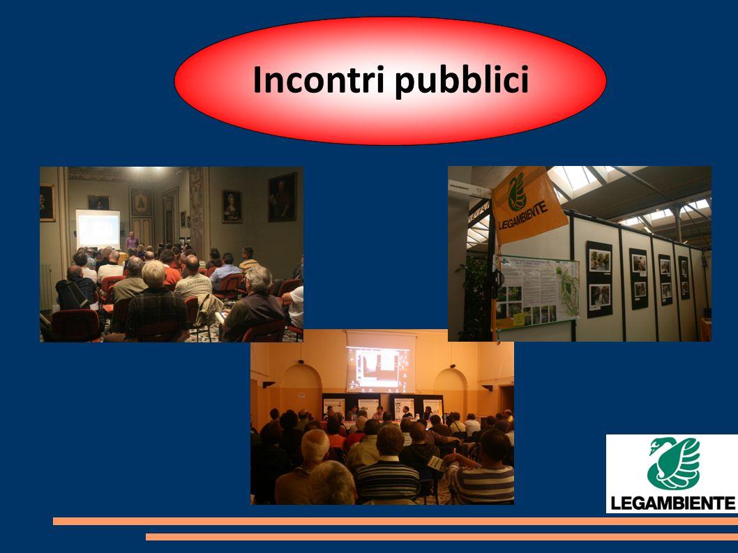 Incontri pubblici
